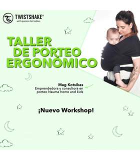Workshop de Twistshake: Porteo Ergonómico