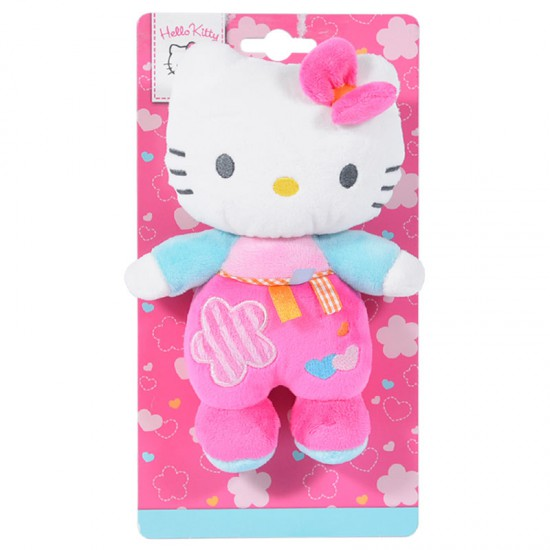 Peluche sonajero Hello Kitty