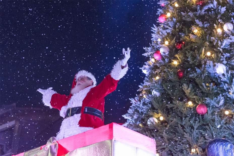 Llegada de Papá Noel