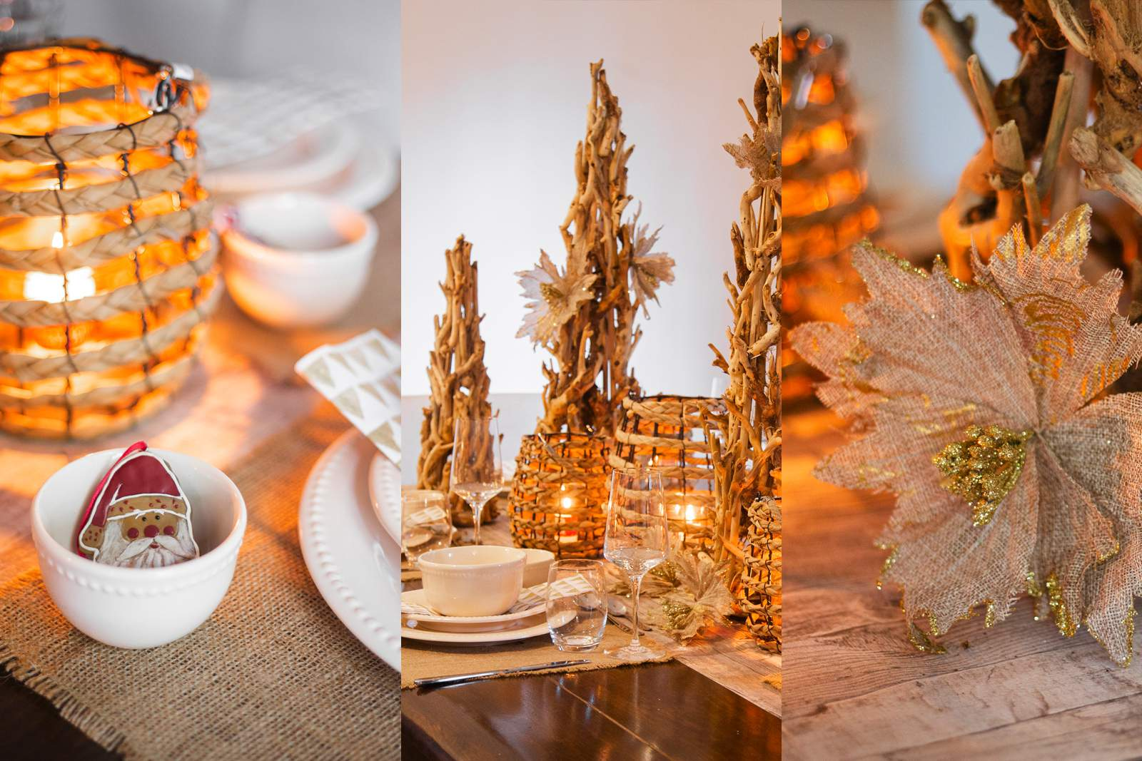 Cómo decorar tu mesa de Navidad en 5 pasos